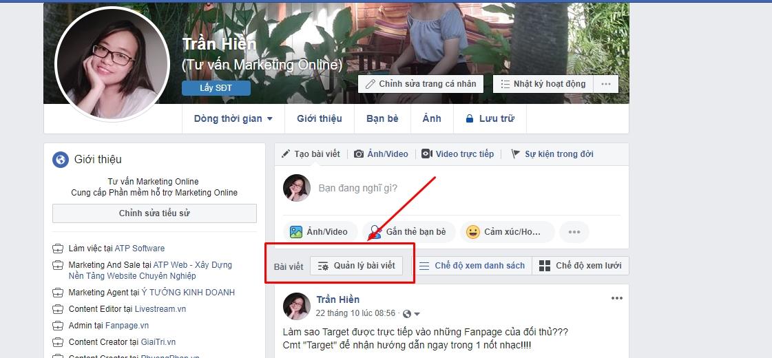 Xoa Tat Ca Bai Viet Facebook