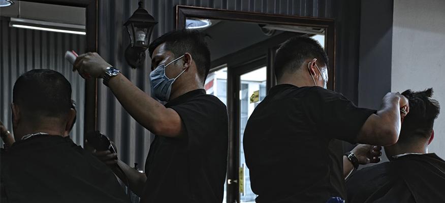 mở tiệm cắt tóc nam