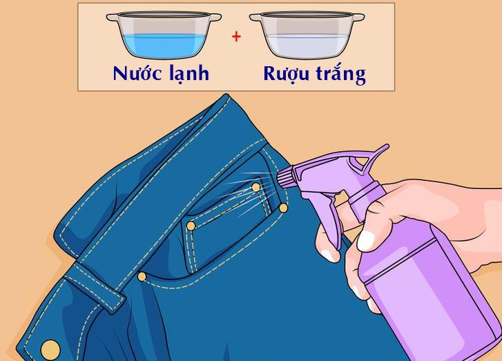 Cách Làm Quần Jean Không Ra Màu