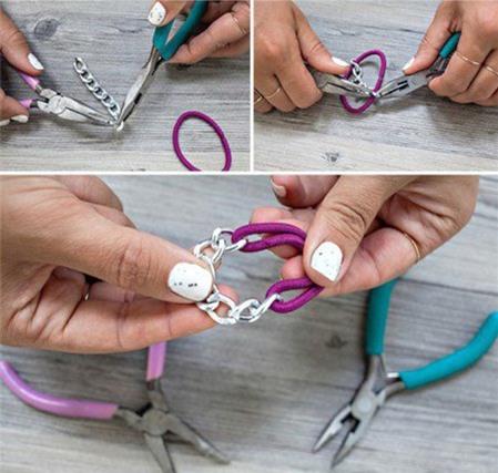 Cách làm vòng tay handmade đơn giản nhắm mắt cũng xong - Hình 9