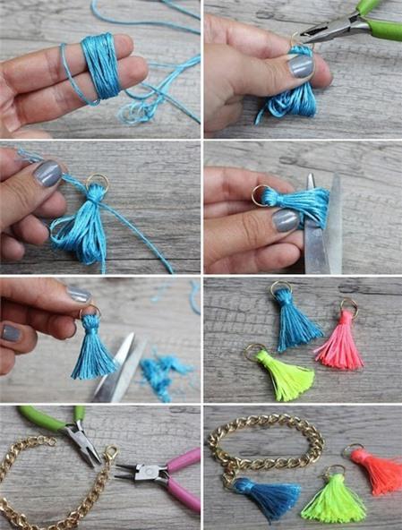 Cách làm vòng tay handmade đơn giản nhắm mắt cũng xong - Hình 3