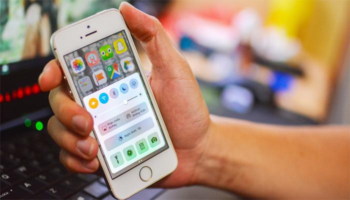 Chạy Lại Phần Mềm Iphone