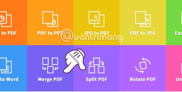 Ghép file PDF trên Smallpdf