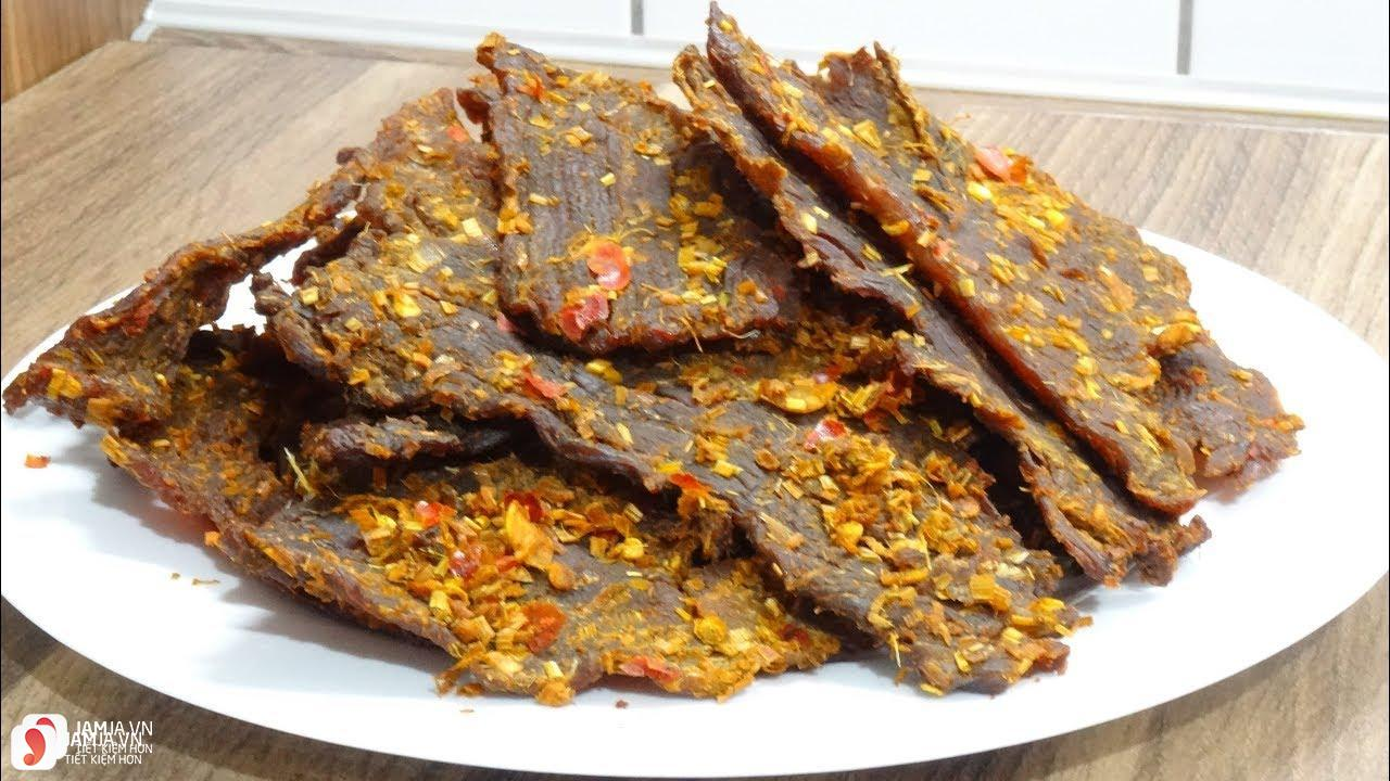 thịt bò khô