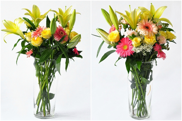 Cách cắm hoa ngày Tết 9