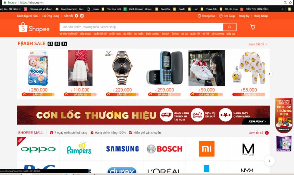 Huong Dan Mua Hang Tren Shopee Tim Kiem San Pham Flash Sale Thuong Hieu 1024x609 1