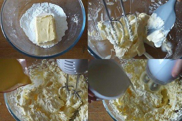 làm kem bánh