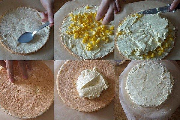 thân nhân bánh và chà láng bánh kem