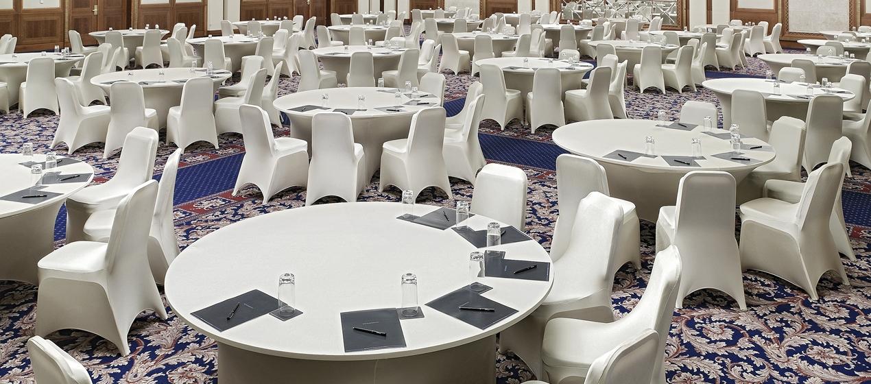 4 kiểu sắp xếp bàn ghế trong tổ chức tiệc - VIETLINK