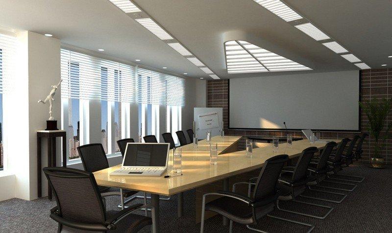 Tư vấn thi công thiết kế nội thất phòng họp đẹp