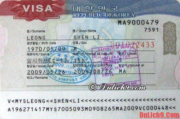 Những kinh nghiệm quan trọng nên biết trước khi du lịch Hà n Quốc - 4 điều cần lưu ý quan trọng khi du lịch Hà n Quốc