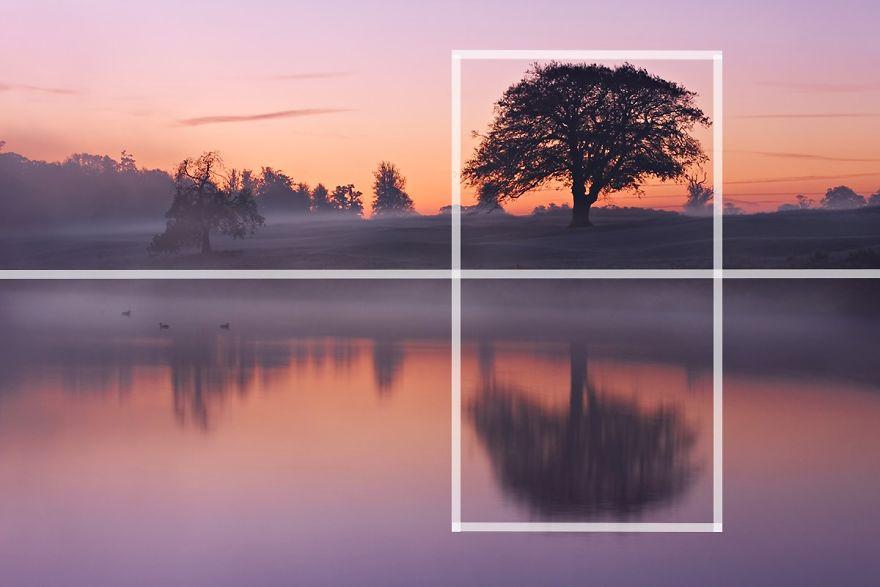 Quy tắc chụp ảnh với bố cục trung tâm và đối xứng