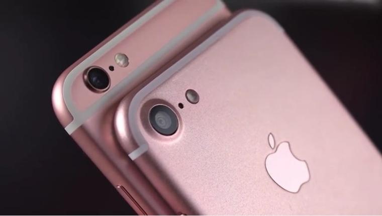Cận cảnh thiết kế của iPhone 7 và iPhone 7 Plus