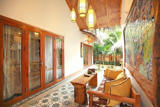 An Bàng Seaside Village có thiết kế lãng mạn