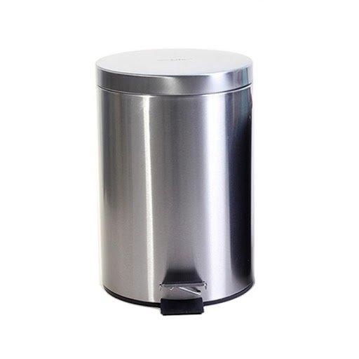 Chuyên phân phối, cung cấp thùng rác inox đạp chân 8 lít văn phòng giá rẻ