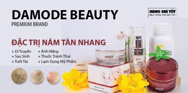 Combo kem trị nám sau sinh từ Damode Beauty Premium Brand