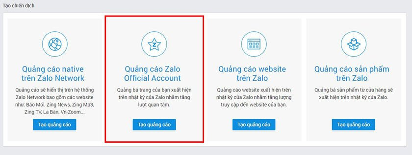 Huong Dan Tao Zalo Ads