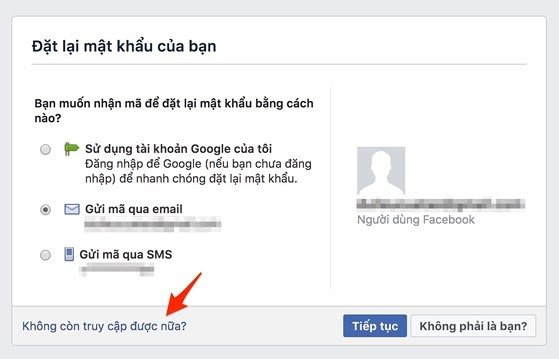 4 cách khôi phục tài khoản Facebook - 5