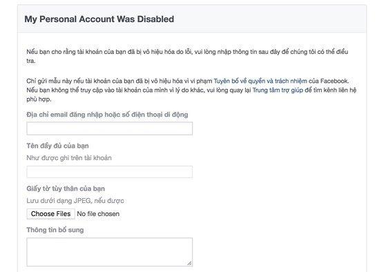 4 cách khôi phục tài khoản Facebook - 7