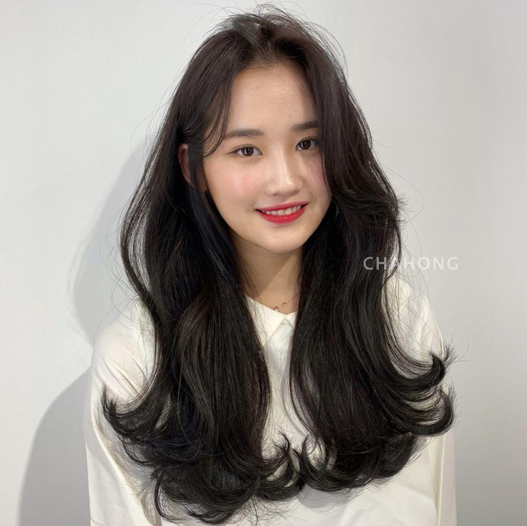 Học gái Hàn tự cắt tóc mái: