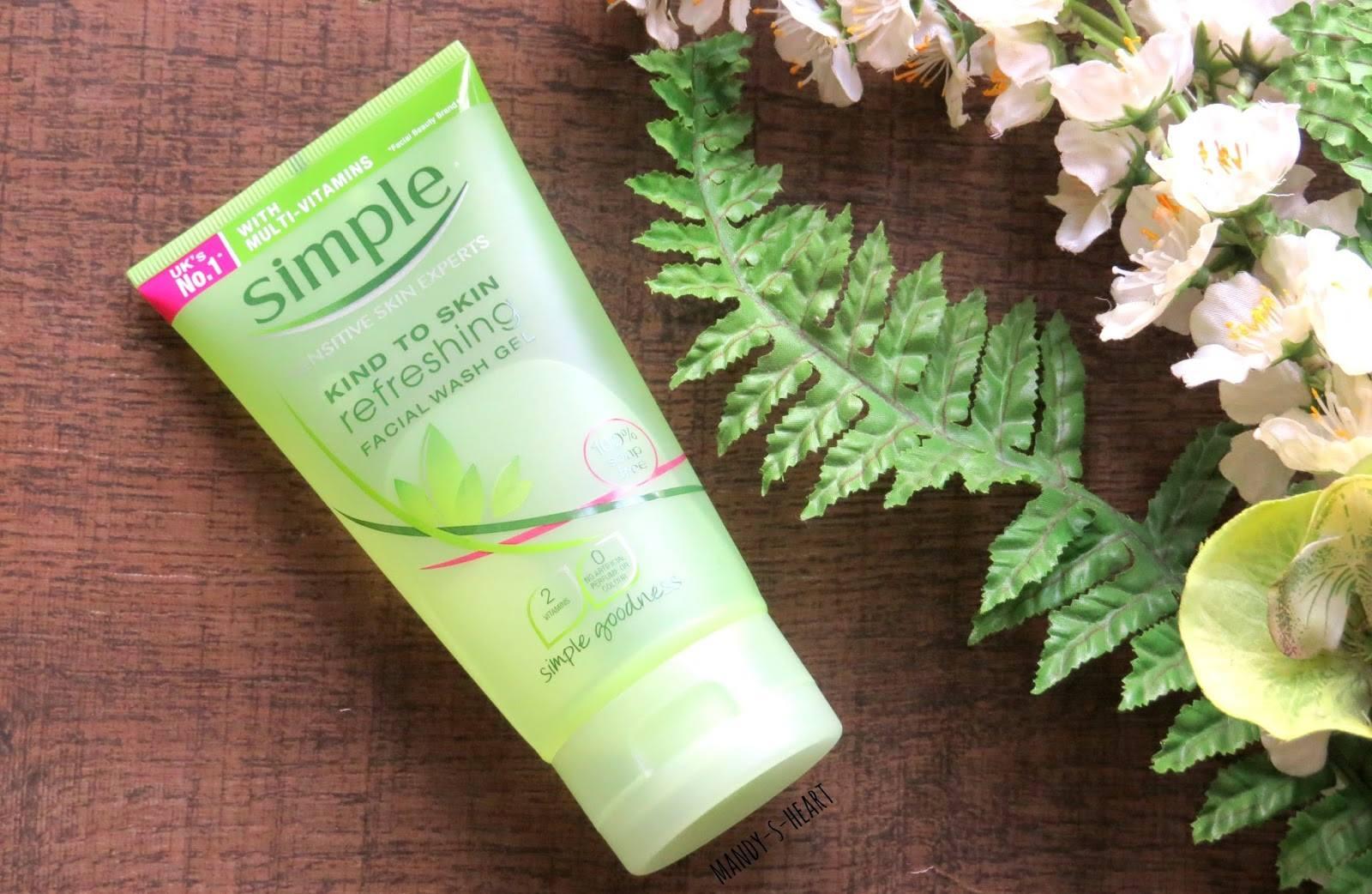 Sữa rửa mặt Simple Kind to Skin Refreshing Facial Wash | Mèo Cosmetic
