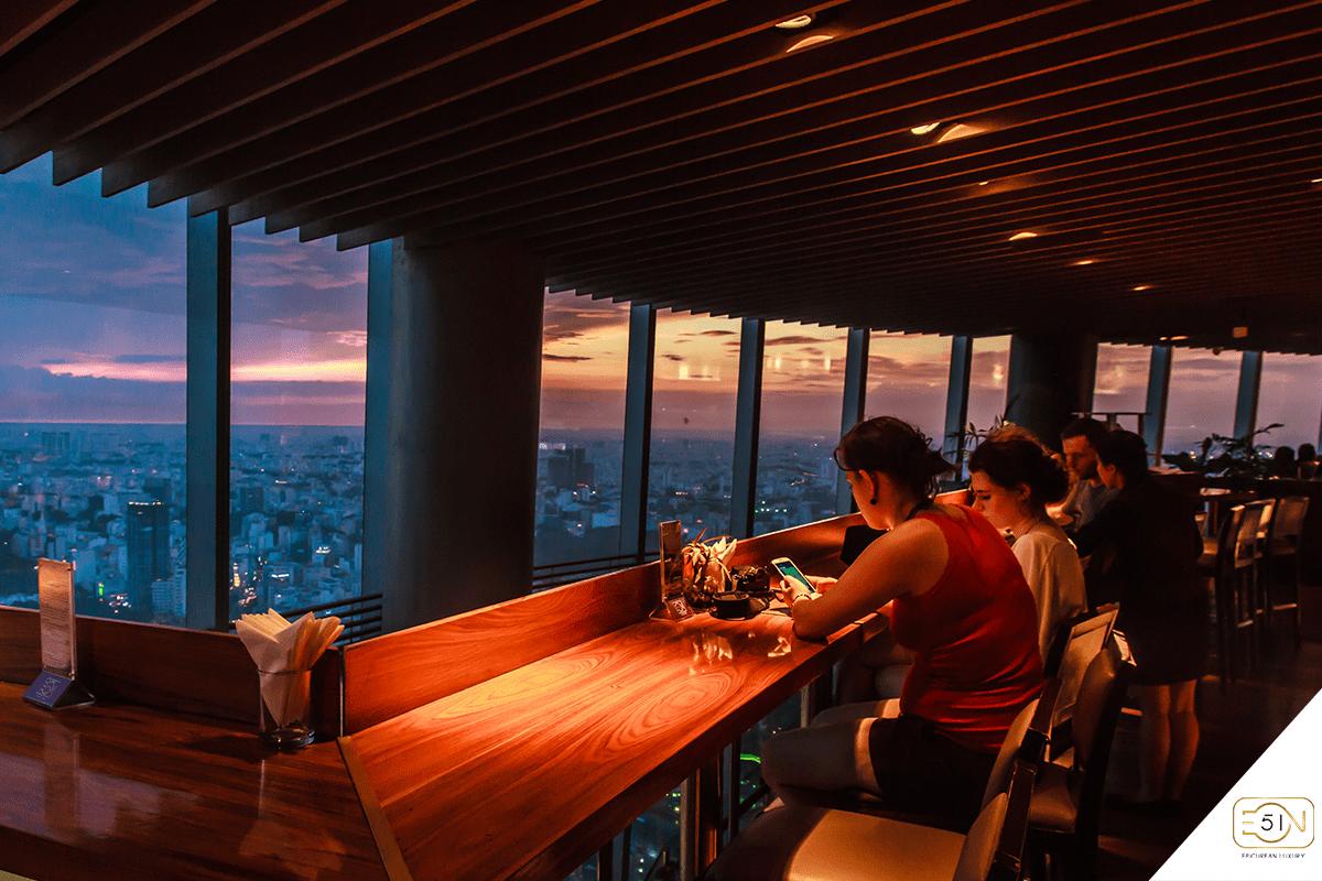 Trải Nghiệm Top 7 Các Quán Cà Phê Rooftop Sài Gòn Quận 1 Bậc Nhất