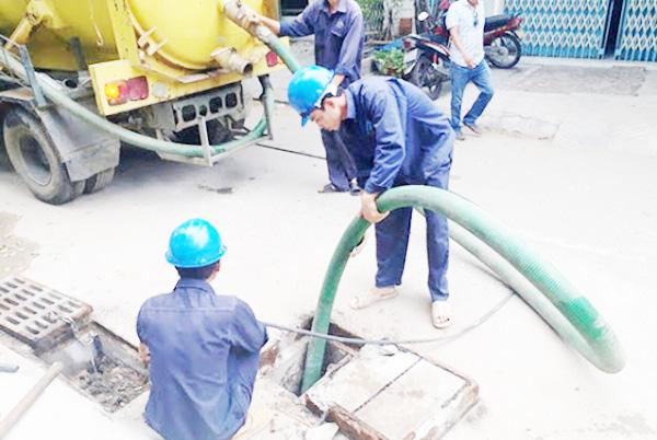 Quy trình thông nghẹt cống tại Thanh Bình chuyên nghiệp