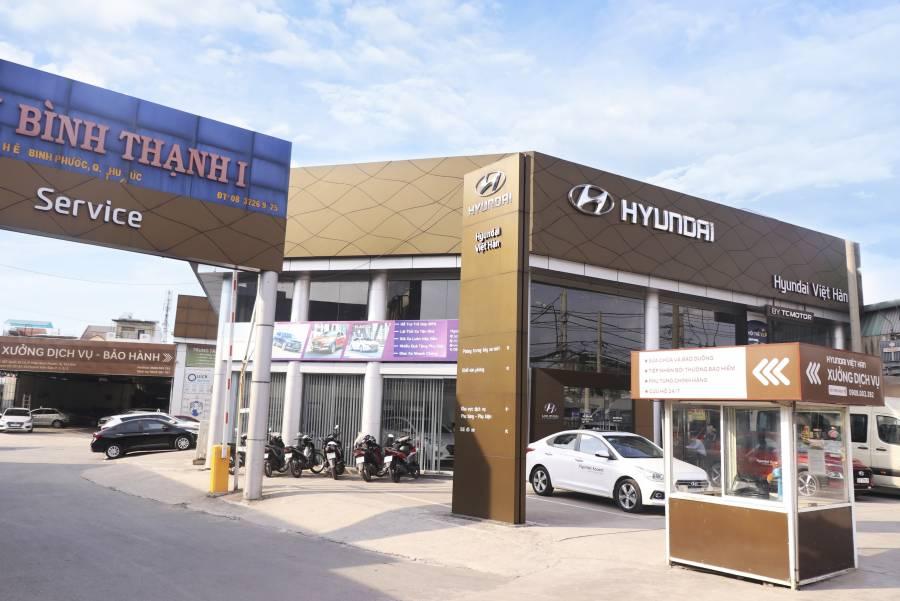 Hyundai Việt Hàn - Salon ô tô mua bán xe ô tô, xe hơi chính hãng tại Trụ sở  chính: 387 Quốc lộ 13, Phường Hiệp Bình Phước, Quận Thủ Đức, TP.HCM