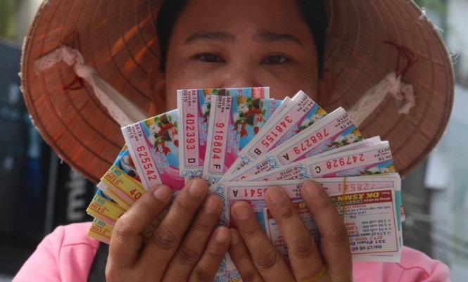 Tấm vé số trúng thưởng phải còn nguyên vẹn, đầy đủ thông tin