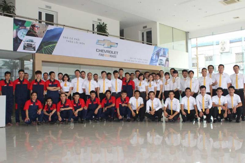 Top 5 đại lí xe Chevrolet uy tín và đúng giá nhất tại Hà Nội - Toplist.vn