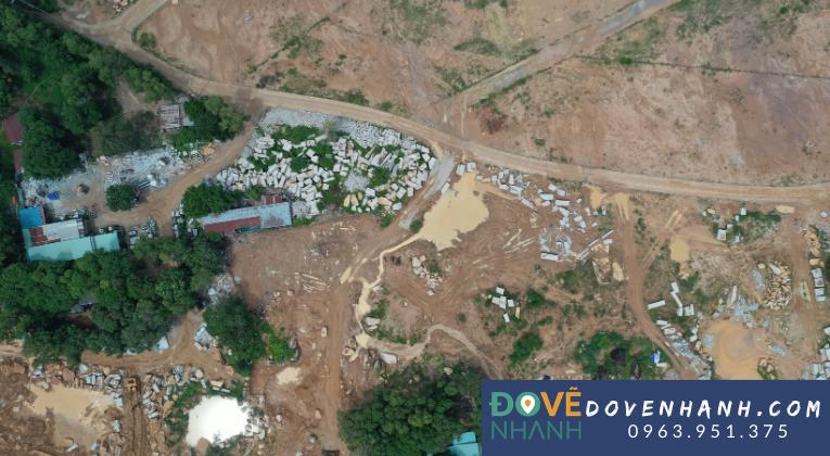 Khảo sát địa hình mỏ đá Tân Thành Vũng Tàu