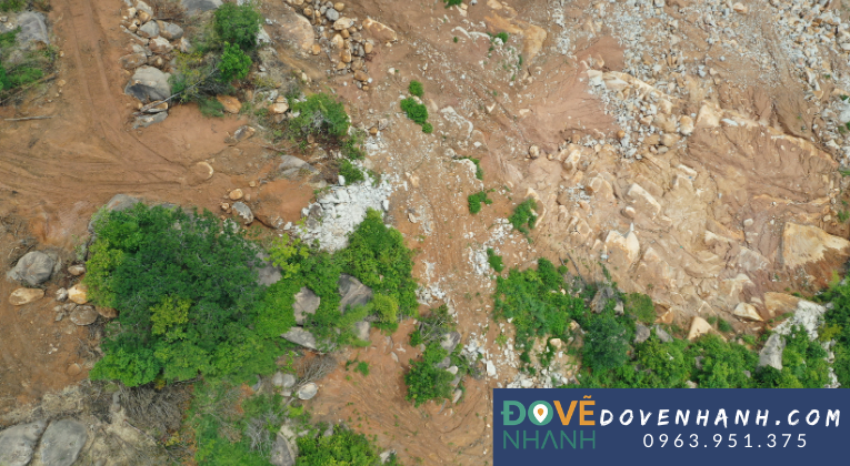 Dịch vụ khảo sát địa hình bằng Flycam (UAV) RTK 1