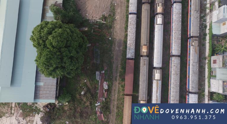 Khảo sát bằng flycam dự án nhà máy ga xe lửa Dĩ An Bình Dương