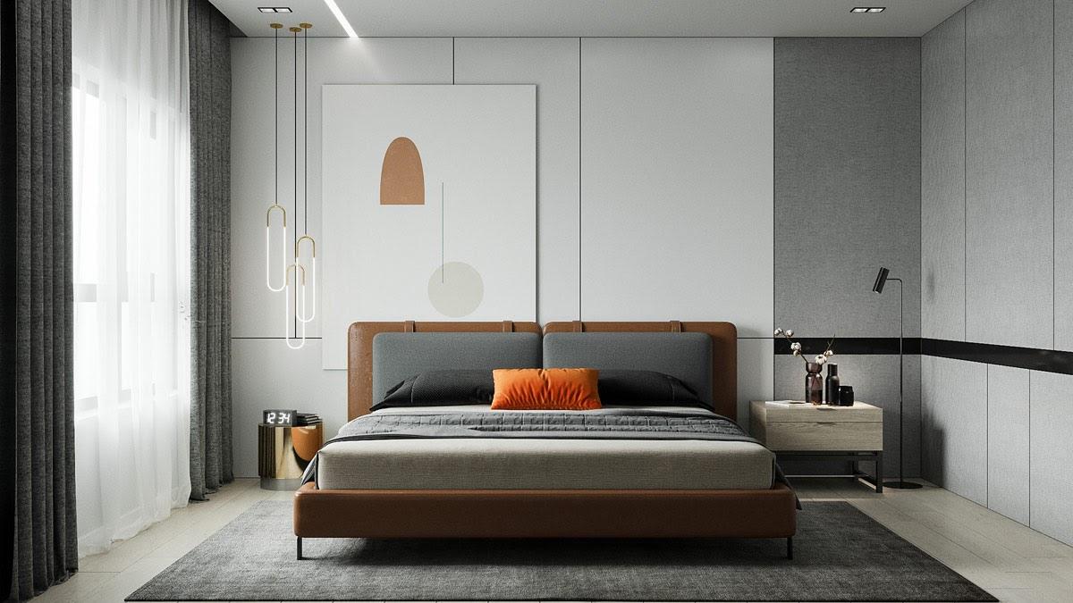 Thiết kế nội thất phòng ngủ sang trọng, đậm chất riêng dành cho gia chủ