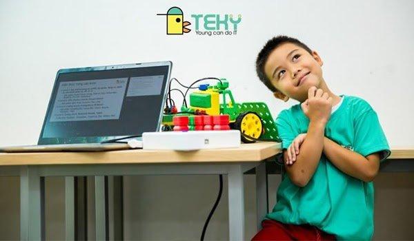 Học online giúp trẻ thể hiện ý tưởng sáng tạo