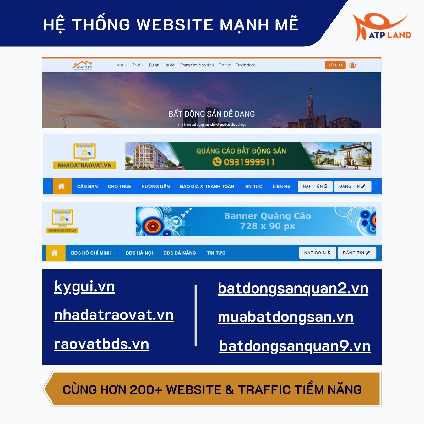 nền tảng website atpland