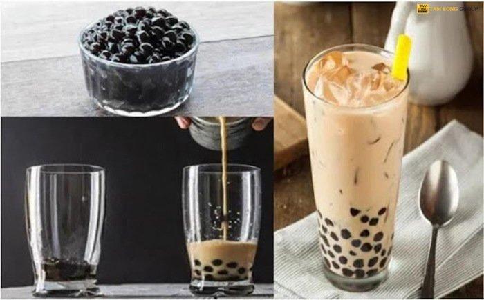 cách pha trà sữa tại nhà