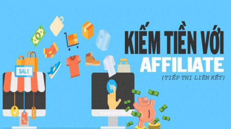 Đăng ký làm affiliate - kiếm tiền online tại nhà