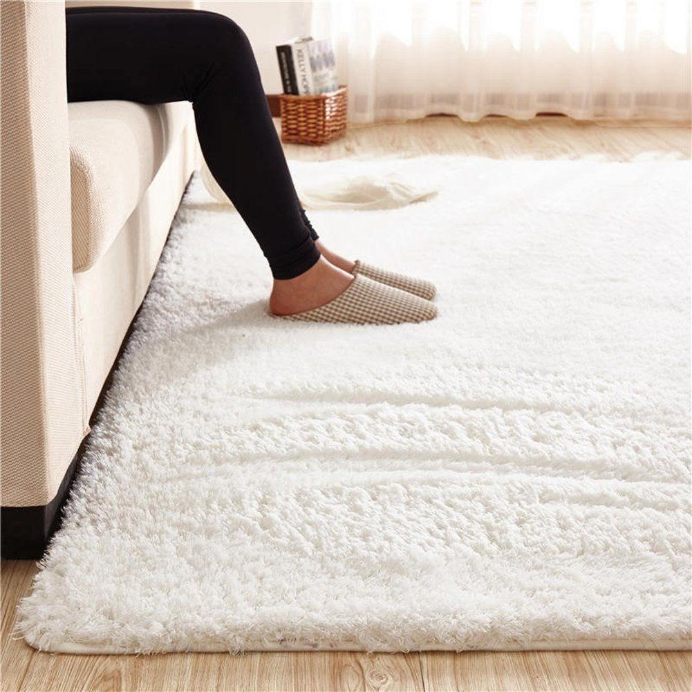 Thảm sofa phòng khách dệt từ sợi cotton tại Hàng Kênh