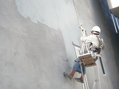 Xử lý triệt để tường ngoài trời thấm vào